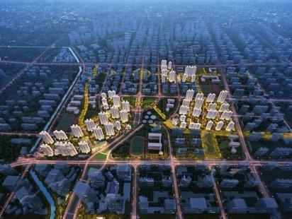 中建蔚蓝之城效果图