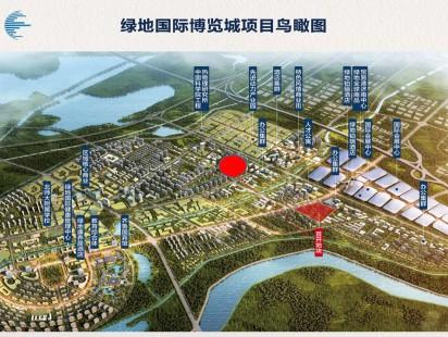 绿地国际博览城效果图 (4)