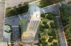奥体东两地块建设工程规划出炉 济南再添两栋百米高楼