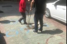 枣庄光明西苑小区业主私自划分停车位 物业整改完毕