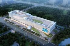 济南西客站片区科技馆南侧再添两栋百米高楼