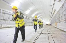济南济泺路穿黄隧道预计10月通车 万里黄河第一隧显真容